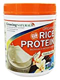 Growing Naturals Prtn Rice Pwdr Vnla Org