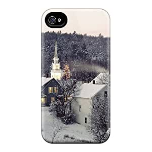 Waterdrop Snap-on Swiss Village In The Snow Cases For Iphone 6