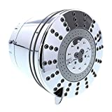 Clearly Filtered Fixed Filtered Shower Head, Shower Water Purifier, Removes Chlorine, Odors, Dirt, and Sediment, Filter Included