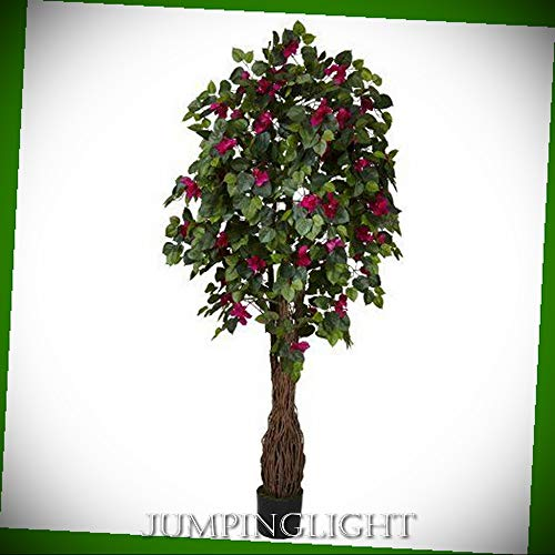 JumpingLight 5343 6' Multi Vine Bougainvillea Silk Tree Artificial Flowers Wedding Party Centerpieces Arrangements Bouquets Supplies