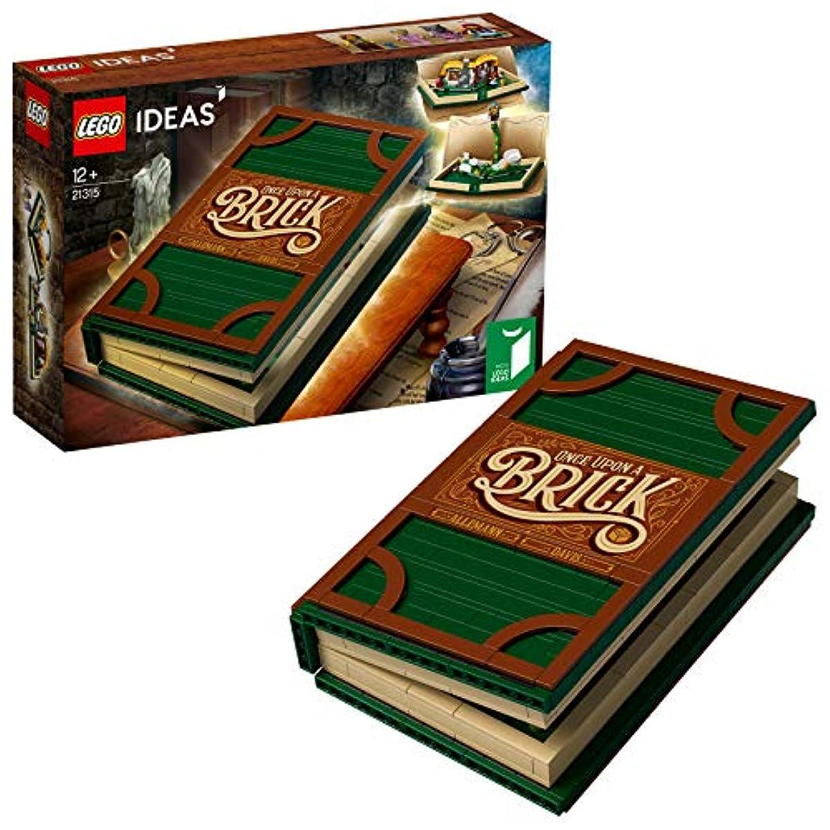[해외] 레고(LEGO) 아이디어 뛰어나가는 걸어 그림책 21315 블럭 장난감