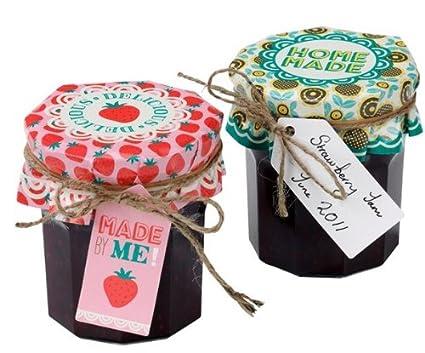 amazon com give what you grow jam jar decorating kit 40pc