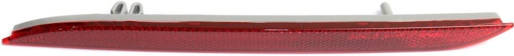 Bumper Reflector Rear Light Lamp Left Side for Mustang 15-17 Convertible//Coupe