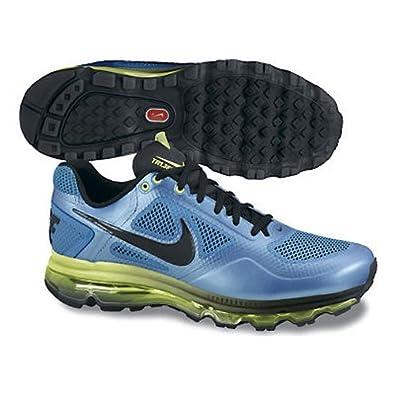 Men\u0026#39;s Nike Air Trainer 1.3 Max Breathe Training Shoe Blue Glow/Volt/Black Size