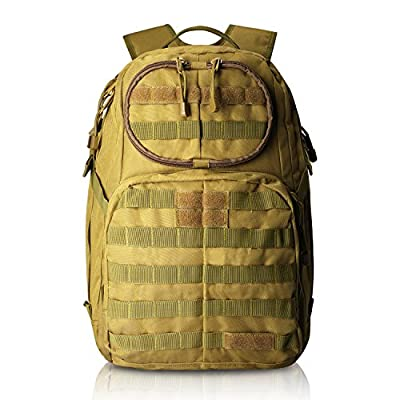 G4Free Tactical Molly Army Backpack Shoulder Bags Assault Rucksack Bug Out Bag for Hiking Camping 40L(Tan)