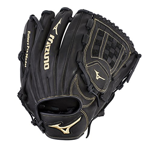 "Mizuno GMVP1200PY3 MVP Prime Future Series Pitcher/Outfield Baseball Gloves, 12"", Left Hand"