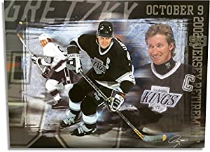 "Wayne Gretzky Unsigned 19X26 Photo Poster ""Los Angeles Kings Jersey Retirement"""