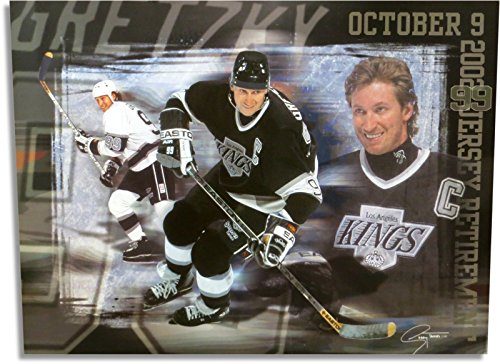 - Wayne Gretzky Unsigned 19X26 Photo Poster