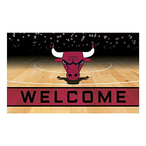 - FANMATS 21944 Team Color Crumb Rubber Chicago Bulls Door Mat