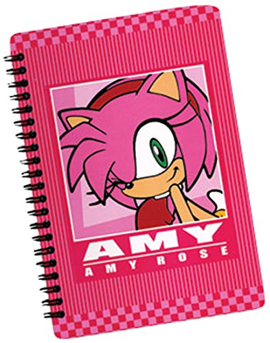 Great Eastern Entertainment Sonic The Hedgehog Amy Softcover Notebook (Sonic Amy Toy)