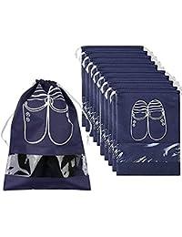 Symbol Of The Brand Waterproof Shoes Bag Pouch Storage Travel Bag Portable Tote Drawstring Bag Drawstring Bag Dolap Organizer Non-woven Organizador Clothing & Wardrobe Storage