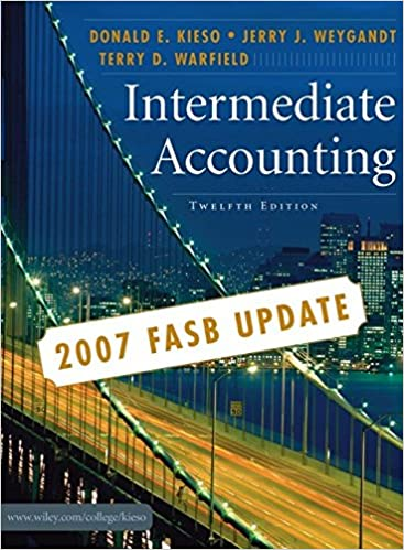 Amazon intermediate accounting 2007 fasb update 9780470128749 amazon intermediate accounting 2007 fasb update 9780470128749 donald e kieso jerry j weygandt terry d warfield books fandeluxe Gallery