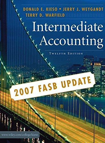 Intermediate Accounting, 2007 FASB Update