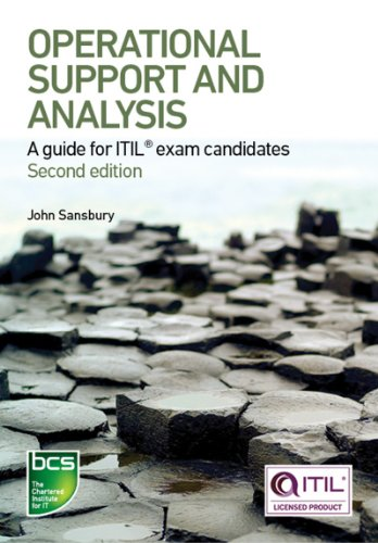 Download Operational Support and Analysis: A guide for ITIL® exam candidates Pdf
