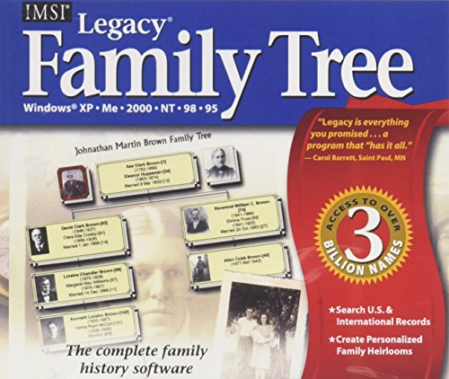 Legacy Family Tree - Buy Online in Oman  | CD-ROM Products