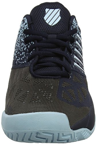Performance Swiss Noir Blue K de Knitshot Black Chaussures Glow Iris Tennis Homme TpF65
