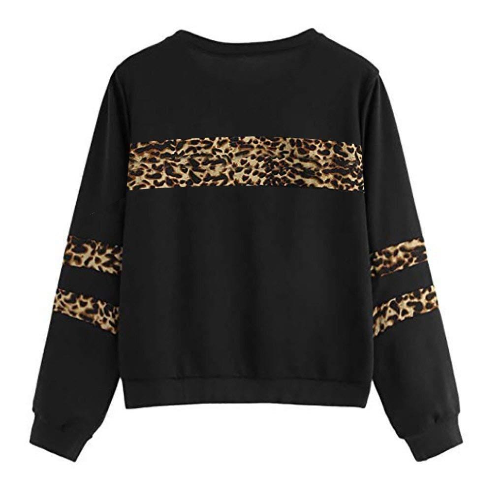 Prissy Lil Missy Women Hoodies Sweatshirt Long Sleeve Leopard
