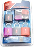 Safe Skies 4-pack TSA-Recognized Padlocks
