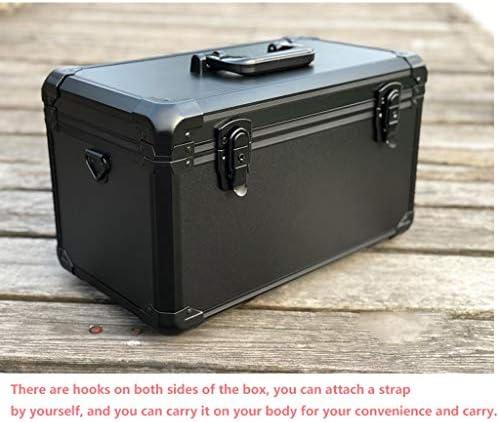 LHT ブラックアルミスーツケース計器ケースツールボックスのパーティション ツールボックス