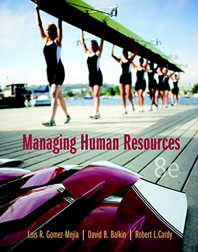 Best managing human resources 8th edition
