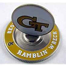 PAC GOLF NCAA METAL POKER CHIP Mondomark Ball Mark Ballmark GEORGIA TECH