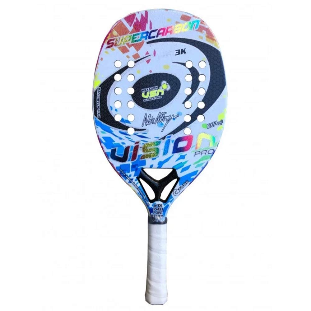Vision Raqueta Beach Tennis Racket Súper Carbono 2020: Amazon.es ...