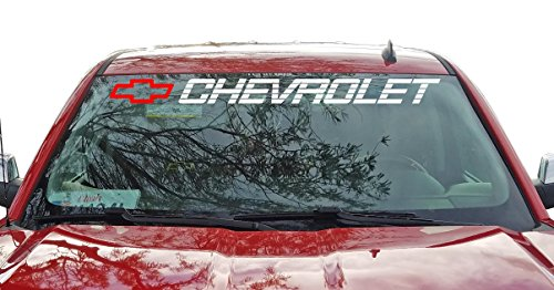 Chevrolet Windshield Sticker Vinyl Decal Chevy Ss 1500 2500 350 454 Truck Lettering