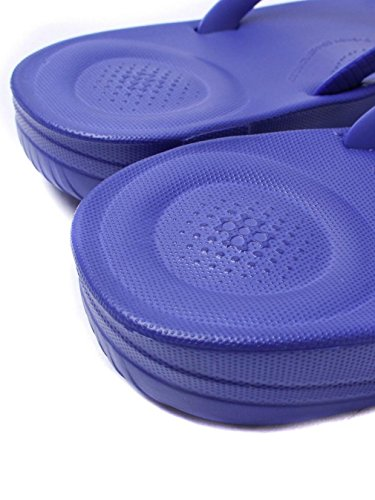 FitFlop Mujer dorado iQushion Ergonomic Chanclas Royal Blue