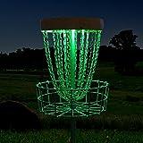 Tehoi Disc Golf Basket Lights Disc Sport Light IR Remote Controlled Waterproof Multi Colored LED Lights, Basket Not Included