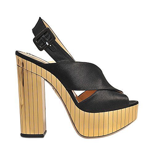 Charlotte Olympia Electra Platform Sandal Black from china free shipping low price get to buy for sale outlet locations online iINvzA