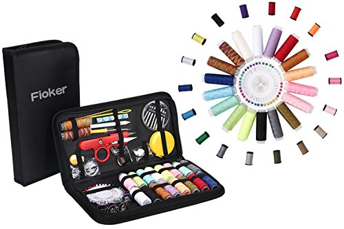 Sewing Kit, AAA Fioker 136 Portable Basic Sewing Accessories