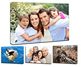 Personalized Photo to Canvas Print Wall Art 12'x16' (30cmx40cm) Custom Your Photo On Canvas Wall Art Digitally Printed