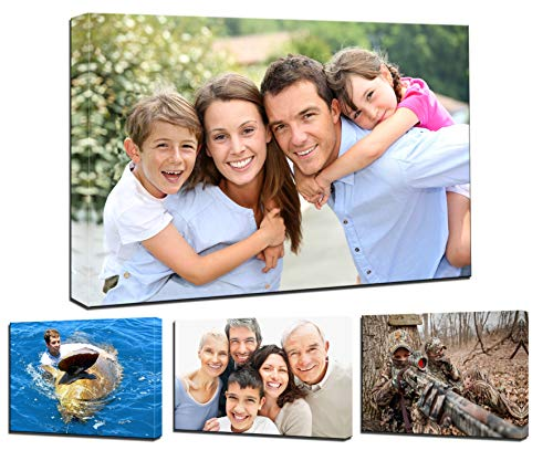 "Personalized Photo to Canvas Print Wall Art 60""x40"" Custom Your Photo On Canvas Wall Art Digitally Printed"