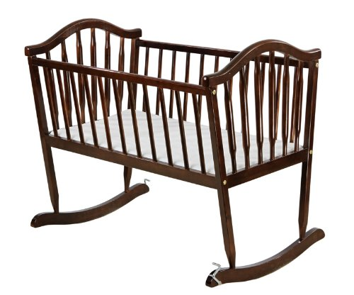 Dream On Me Rocking Cradle, Espresso 645-E