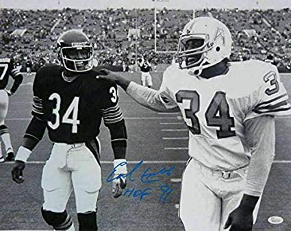 829f5bab Signed Earl Campbell Photograph - 16x20 HOF 10771 - JSA Certified -  Autographed NFL Photos