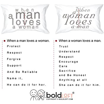 Amazon Boldloft Together In Love Couple Pillowcases His And