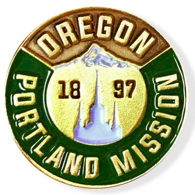 LDS Oregon Portland Mission Commemorative Lapel ()