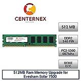 512MB RAM Memory for Evesham Solar 7500 (DDR25300 NonECC) Desktop Memory Upgrade by US Seller
