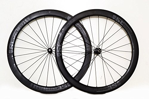 Stradalli Cycle Full Carbon 50/50 Deep Section 27mm Wide Road Tubular DT Swiss 350 Cycling Bicycle Wheelset