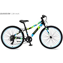"Guardian Lightweight Kids Bike, 20 Inch and 24 Inch, Safe Patented SureStop Brake System, Kids Mountain Bike, Bike Sizes for Kids 3' 9"" - 5' 1"", Boys Bikes and Girls Bikes (AS SEEN ON SHARK TANK)"