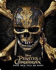 Piratas Do Caribe: A Vingança De Salazar 3D+[Blu-ray] Stellbook