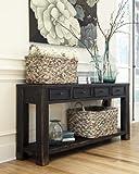 Ashley Furniture Signature Design - Gavelston Sofa Table - Rectangular - Black