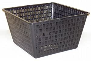 Leisure Time 80615 Mini Fine Mesh Square Planting Crate