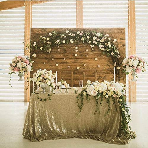(SoarDream Sequin Table Cloth 90