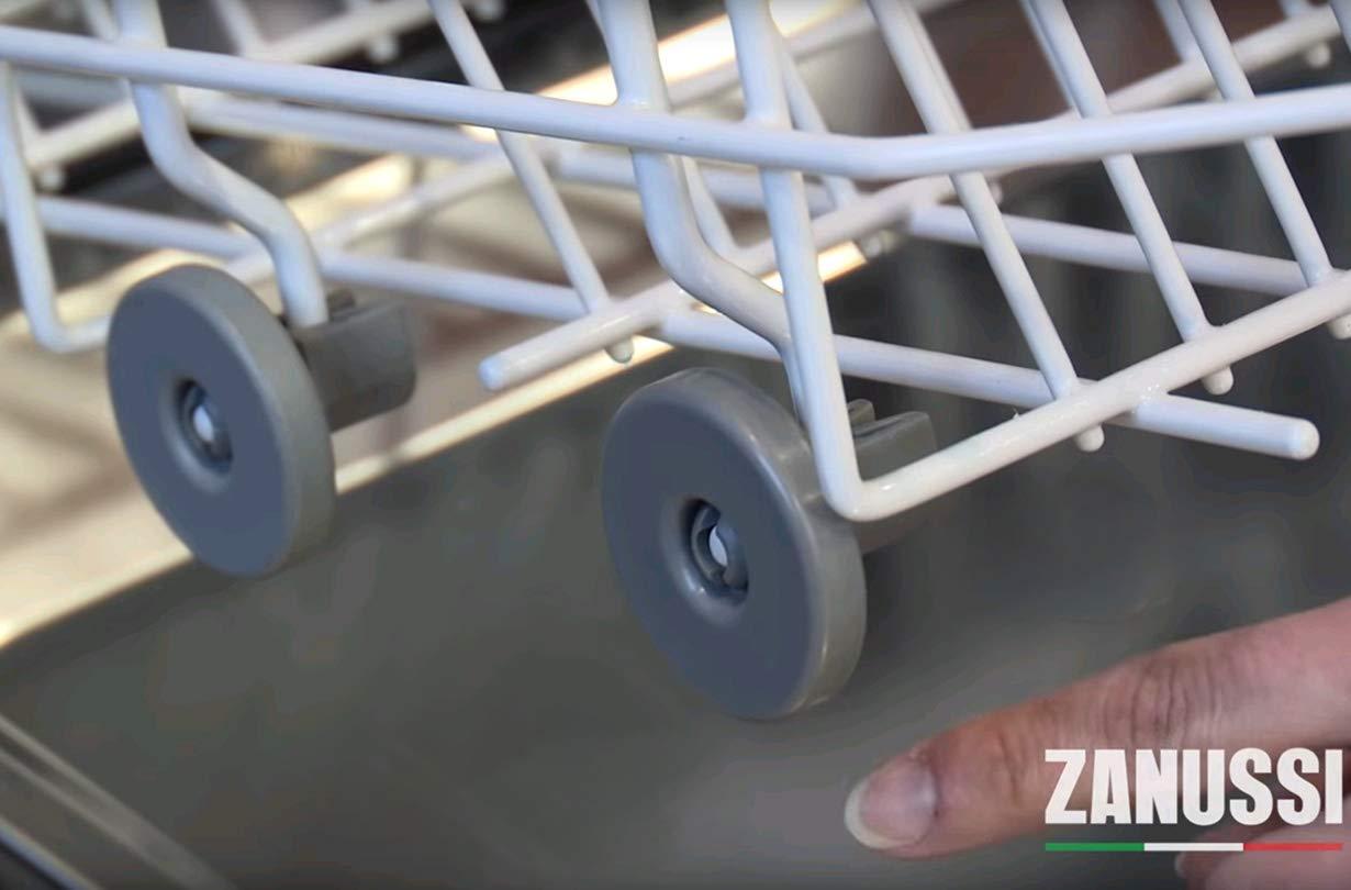 AEG Ikea. Electrolux Juego Universal Completo de Ruedas para Cestos Superior e Inferior Ruedecillas Lavavajillas Zanussi