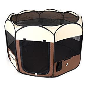 Ware Manufacturing Medium Deluxe Pop Up Dog Playpen Click on image for further info.