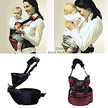 0e864203ebd Amazon.com   2014 New hot cotton Baby Kid Toddler Safety Hipseat Hip Seat  Baby Carrier Belt Sling Hugger Harness Strap 4 colors free ship   Baby