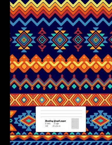 """Beading Graph Paper: Graph Paper for Bead Pattern Designs Your Favorite/ Beading on a Loom / Bracelet, Jewelry, Earring, Necklace / Bead Making Kit 