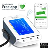 Blood Pressure Monitor Bluetooth Table Upper Arm Model - Smart - iProvèn BPM-2244BT