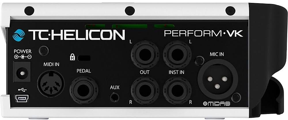 TC Helicon 996367005 Perform-VK Vocal Effects Unit w/ Cloth, 2 Instrument Cables, and XLR Cable by TC-Helicon (Image #4)